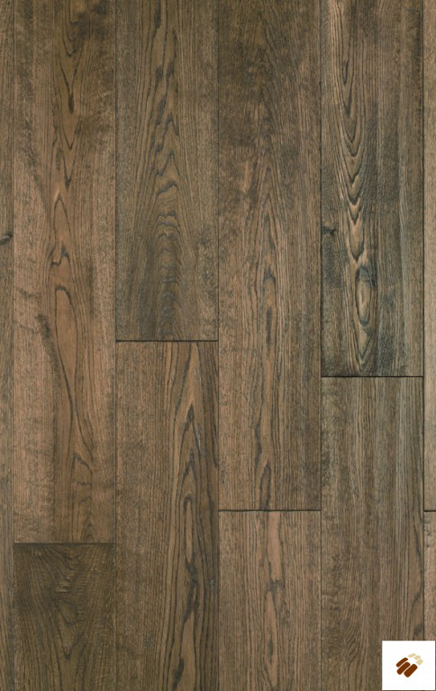 ATKINSON & KIRBY: 700420 Oak Antique Stained, Handscraped & Lacquered (18 x 150mm)-0