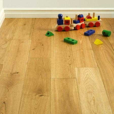 ATKINSON & KIRBY: 700349 Oak Rustic Grade Brushed & UV Oiled (20/6 x 190mm)-0