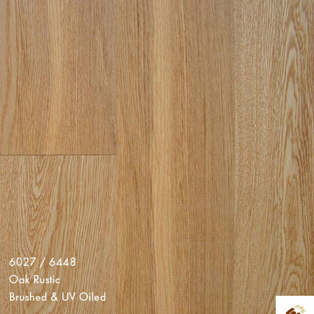 Emerald 148 (11154) - Oak Rustic Brushed & UV Oiled (14/3 x 148mm)-0