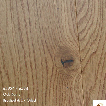 Majestic 189 Clic (22701) - Oak Rustic Brushed & UV Oiled (14/3 x 189mm)-0