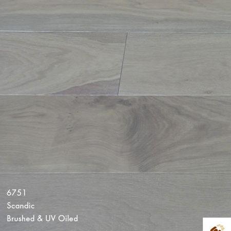 Majestic 189 Clic (22699) - Scandic White Brushed & Matt Lacquered (14/3 x 189mm)-0