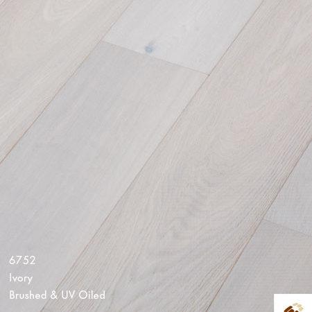 Majestic 189 Clic (22696) - Ivory White Brushed & Matt Lacquered (14/3 x 189mm)-0