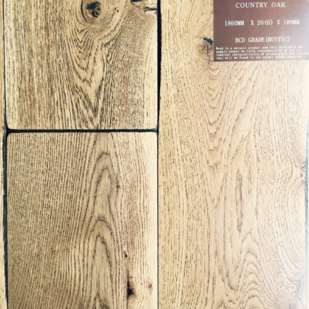 NATURES OWN: Country Oak Random Edge UV Lacquered (20/6 x 189mm)-0