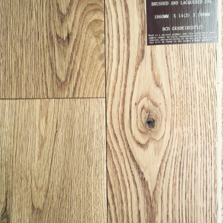 NATURES OWN: Oak Brushed & Matt Lacquered (14/3 x 189mm)-0