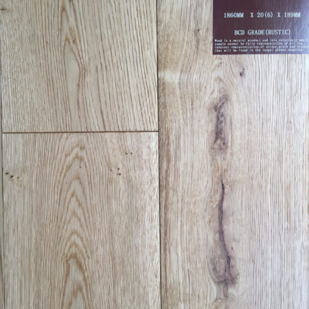 NATURES OWN: Oak Brushed & Matt Lacquered (20/6 x 189mm)-0