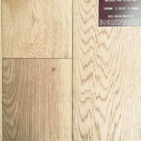 NATURES OWN: Oak Brushed & Oiled (20/6 x 189mm)-0