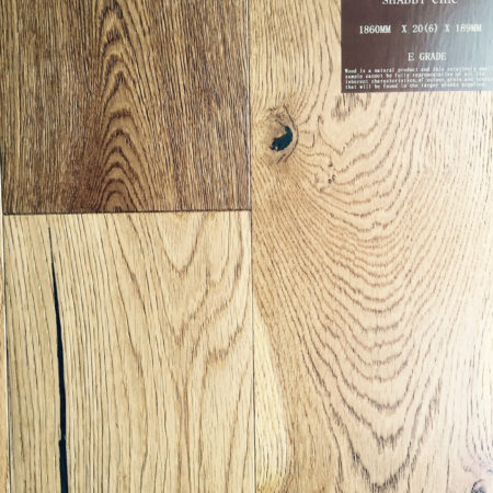 NATURES OWN: Shabby Chic Oak Distressed, Smoked, Brushed & Matt UV Lacquered (20/6 x 189mm)-0