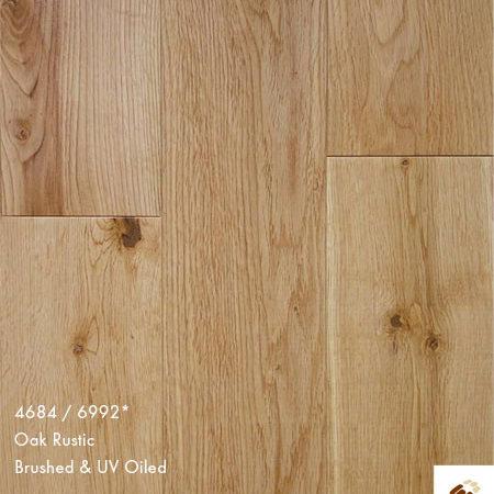 Next Step 125 (20997) - Oak Rustic Brushed & UV Oiled (18/4 x 125mm)-0