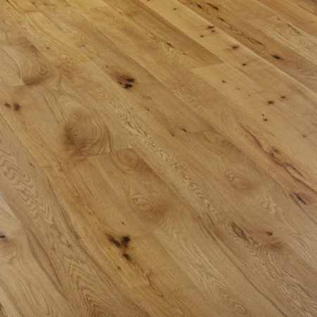 Secret: Signature SIG14 - Oak Rustic Brushed & UV Oiled (15/4 x 150mm)-0