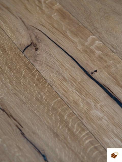 """Secret: Superb SUP13 - FSC Oak Rustic """"Weathered Beam"""""""" (15/4 x 190mm)"""" (Flooring)"""