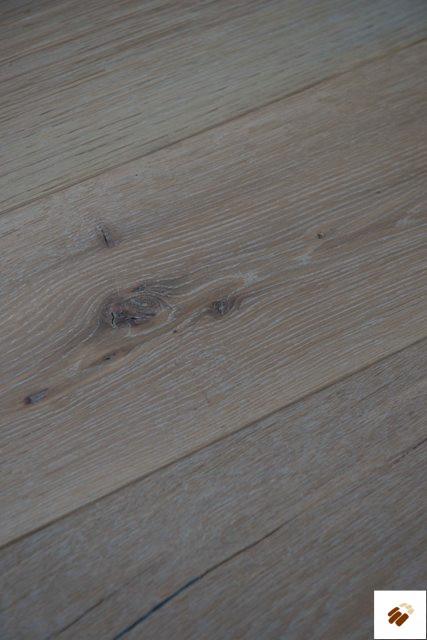 "Secret: Superb SUP16 - FSC Oak Rustic ""Limehouse White"""" (15/4 x 190mm)"" (Flooring)"