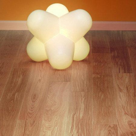 TUSCAN: TF102 - 1 Strip Family Oak UV Oiled & Bevelled (14 x 180mm)-0