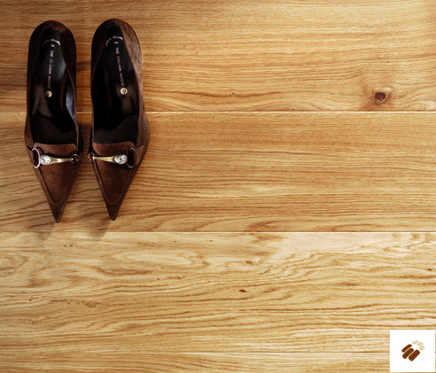 TUSCAN: TF100 - 1 Strip Natural Oak Lacquered (14 x 180mm)-0