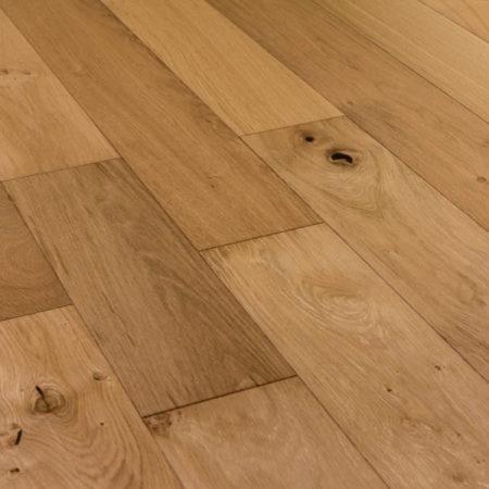 Secret: SIM07 - Oak Rustic UV Oiled Bevelled Plank (14/3 x 190mm)-0