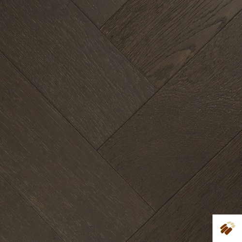 TUSCAN: TF30 - Oak Smoked & Black Stained, Brushed & UV Oiled (15/4 x 122mm)-0