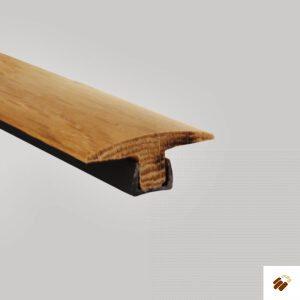 Hardwood Oak Twin Threshold with Fixing – 2700mm Unfinished